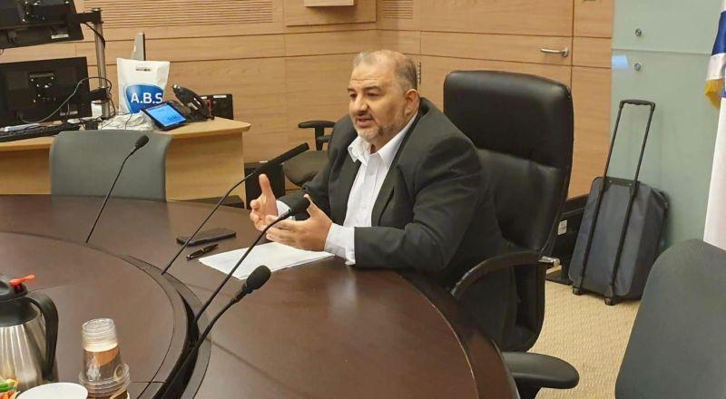 انتخاب د. منصور عباس رئيسًا للجنة البرلمانية لمحاربة العنف والجريمة في المجتمع العربي