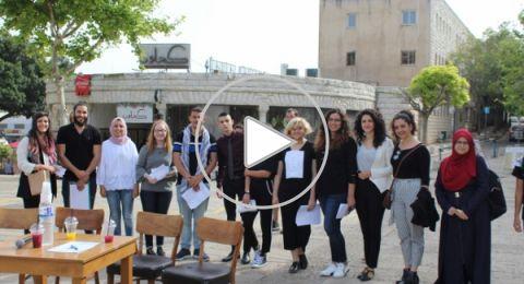 منافسة خطابات علنيّة في ساحة العين لمشتركي دورة القيادة الشابّة لمركز إعلام
