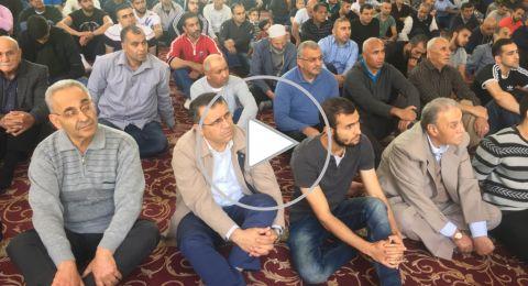 خطيب جامع عمر المختار يافة الناصرة يحث على العمل