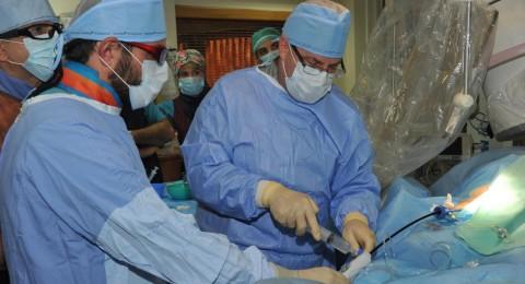زرع اصغر منظم نبضات للقلب في العالم  بقلب انسان في المركز الطبي للجليل في نهاريا
