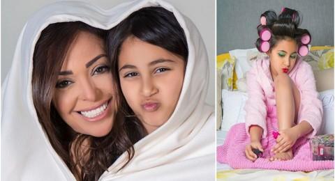 الجمهور يهاجم داليا البحيري بسبب صورة لابنتها