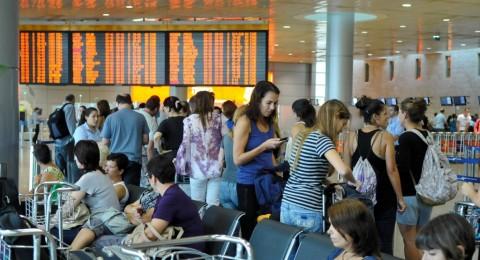 مطار بن غوريون: خلل فني يتسبب بتأخير الرحلات الجوية