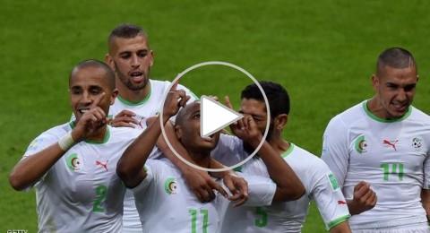 أصداء فوز المنتخب الجزائري على كوريا الجنوبية بالبرازيل