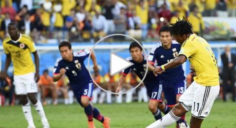 رباعية كولومبيا تخرج اليابان من المونديال