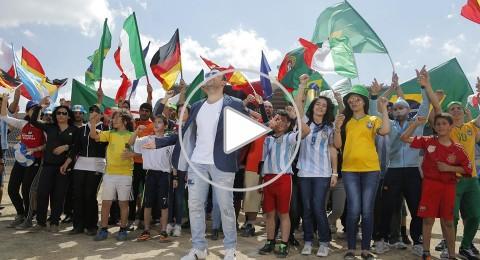 اجواء مونديال 2014: هاني متواسي سعيد بنجاح أغنية