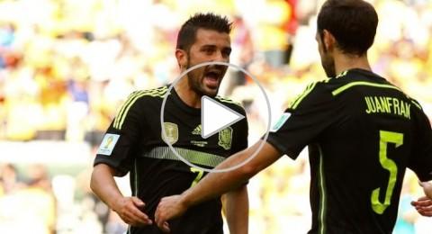اسبانيا تغادر المونديال بفوز معنوي على استراليا بثلاثية