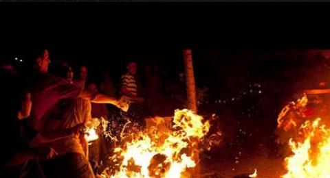 اسرائيلي يضرم النار بنفسه في برديس حنا