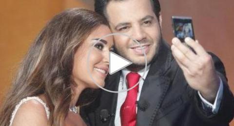 """سيرين عبد النور: مشهد القبلة بيني وبين مكسيم خليل في مسلسل """"روبي"""" مجرد خدعة"""