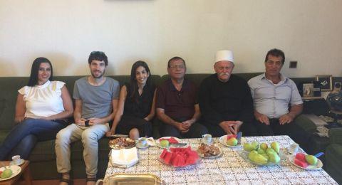 وفد من كليّة تل حاي الاكاديميّة يحلّ ضيفا على منطقة الجولان واجتماع لتعزيز العلاقات