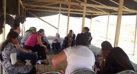 الجمعيات النسوية تختتم حملة اغاثة العراقيب بزيارة تضامنية