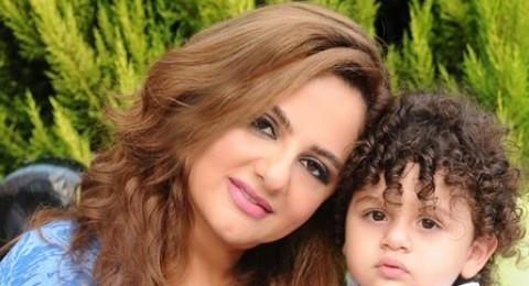 باسكال مشعلاني تحتفل بيوم ميلاد طفلها