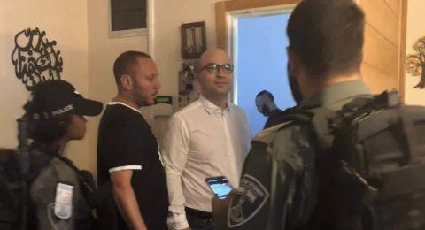 اعتقال وزير شؤون القدس ومداهمة منزل محافظ القدس فجر اليوم