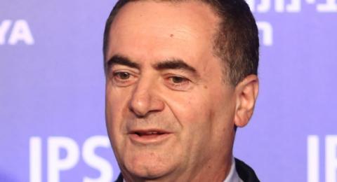 كاتس: اجتمعت بأحد وزراء الخارجية العرب