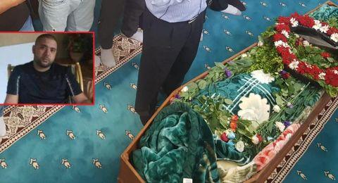 امّ الفحم تشيّع القتيل ابراهيم محمد عارف كيوان