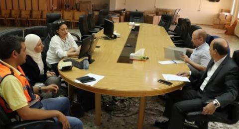 الاجتماع الدوري للجنة المشتركة لتنسيق المشاريع الخاصة بإعادة تأهيل المركز التاريخي والديني لمدينة بيت لحم