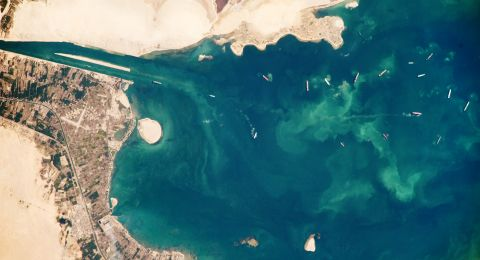 السيسي يأمر بحماية بحيرات مصر