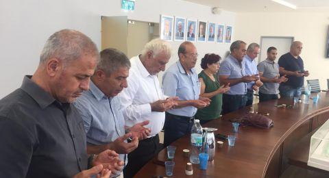 سخنين: البلدية واللجنة الشعبية تجتمع لإتمام التحضيرات لنشاطات إحياء ذكرى هبه القدس والأقصى