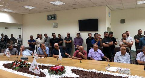 أمّ الفحم: اجتماع طارئ في البلدية بمشاركة النائب جبارين وزحالقة حول العنف