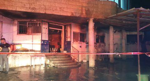 حريق بمحل لغسيل السيارات في الجديدة المكر