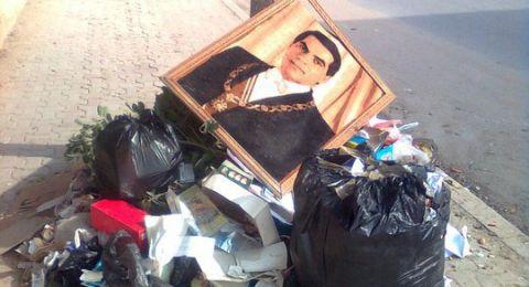 صهر زين العابدين بن علي ينشر صورة لقبر الرئيس الأسبق الراحل