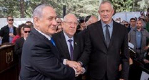 غانتس يدعو نتنياهو للتفاوض دون شروط مسبقة