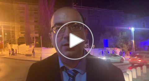 سامي أبو شحادة: نحن بحاجة للمزيد من الوقفات ضد العنف
