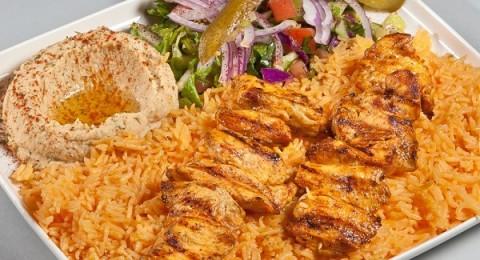 الأرز المكسيكي بقطع الشيش طاووق