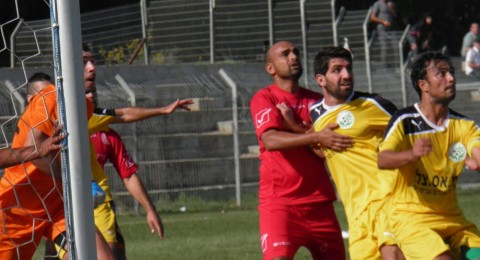 الديربي العربي ينتهي بفوز مجد الكروم على الدالية 1-0