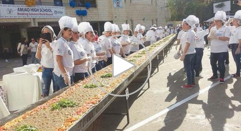 لبنان يدخل موسوعة جينيس بأطول منقوشة في العالم