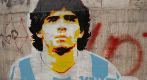 مارادونا ● اجمل 10 اهداف في تاريخ الاسطورة ●