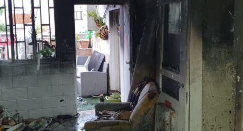 حريقان في باقة الغربية فجر اليوم
