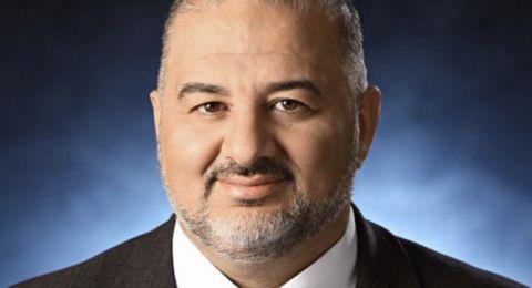 النائب منصور عباس: كفى تزويرًا للحقائق والكلام.. نريد للقائمة المشتركة أن تستمر ونريدها قادرة ومؤثرة