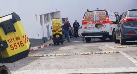إصابة حرجة لعامل اثر تعرضه لصعقة كهربائية في تل أبيب