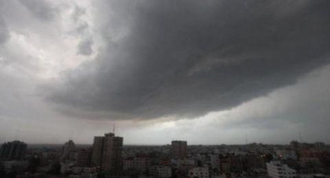 حالة الطقس: منخفض جوي وامطار مساء اليوم