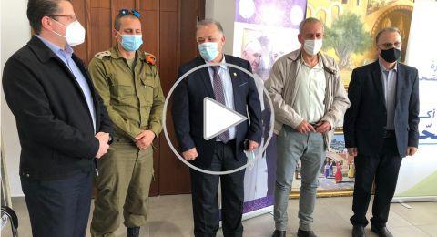 بـ. نحمان أش في الناصرة: كل إغلاق يُفرض إنما هو إجراء وقائي وليس عقابًا