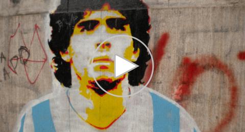 أجمل أهداف الأسطورة الأرجنتيني الراحل دييغو مارادونا (فيديو)