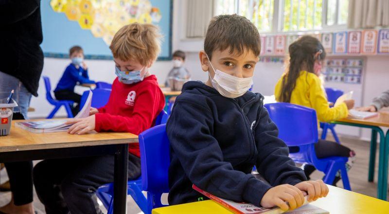 العودة إلى التعليم في القدس: عاد حوالي 35 ألف طالب في الصفين الخامس والسادس في القدس إلى مقاعد المدرسة