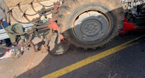 إصابة رجل بانقلاب تراكتور قرب عيلبون