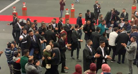 العربية الأمريكية - جنين: تكريم الطلبة المتوقع تخرجهم على الفصل الاول