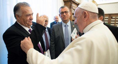 البابا فرنسيس سيزور الناصرة قريبًا