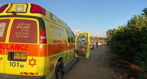 العثور على جثة شاب في بيارة قرب رمات هشارون