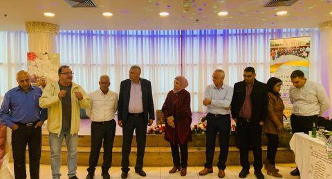 تكريم مسيرة العطاء والتفاني للسكرتيرة الإدارية فايزة دراوشة