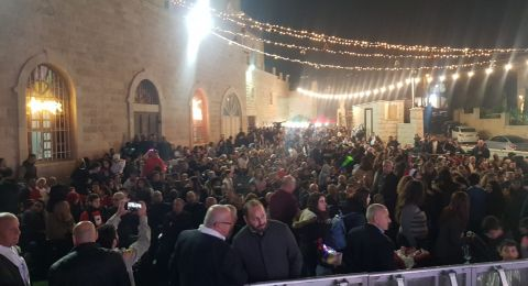 بحضور الآلاف : سخنين تفتتح فعاليات كريسماس ماركت باضاءة شجرة الميلاد ومشاركة واسعة