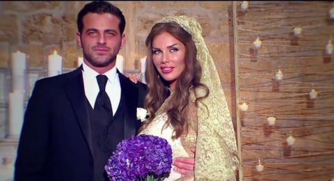 لقطات تعرض للمرّة الأولى من زفاف نيكول سابا ويوسف الخال