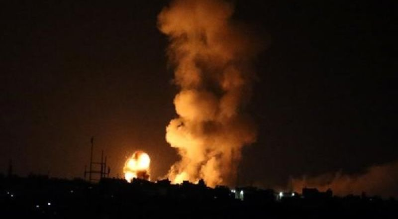 اسرائيل تقصف عدة مواقع في غزة