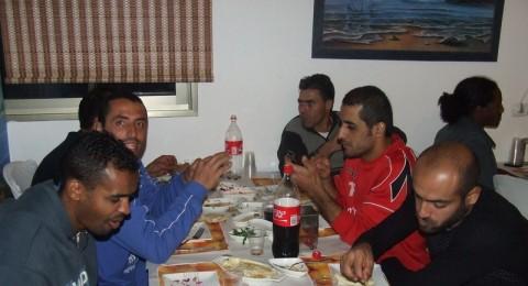 مجلس محلي كفرقرع وادارة الفريق تنظم امسية اجتماعية وعشاء للاعبي فريق بلدي كفرقرع