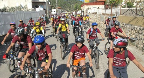 مسيرة دراجات هوائيه-