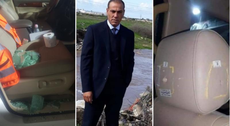 محاولة اغتيال خالد أبو عرار مستشار بلدية قلنسوة!