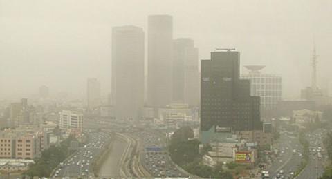 وزارتا الصحة والبيئة تكافحان تلوث الجو في تل ابيب