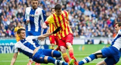 برشلونة يفوز على اسبانيول بهدف ويتصدر الدوري مؤقتاً